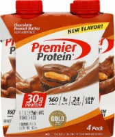 Premier Protein Chocolate Peanut Butter Protein Shakes