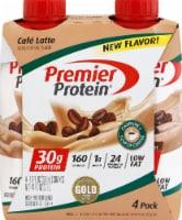 Premier Protein Gluten Free Cafe Latte High Protein Shakes