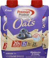 Premier Protein Blueberries & Cream Protein Shakes - 4 ct / 11 fl oz