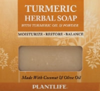 Plantlife Turmeric Herbal Soap with Turmeric Oil and Powder