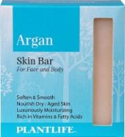 Plantlife Argan Skin Bar Soap for Face and Body