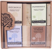 Plantlife Earth Aromatherapy Herbal Soap Combo - 4 ct / 4 oz