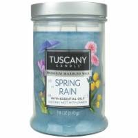 Tuscany Candle Candle Spring Rain Jar Candle - Blue