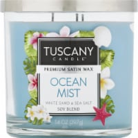 Tuscany Ocean Mist Scented Jar Candle