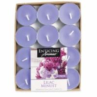 Enticing Aromas Lilac Minuet Scented Tea Light Candles - Purple