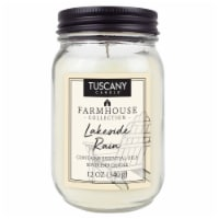 Tuscany Candle Farmhouse Collection Lakeside Rain Scented Jar Candle