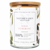Nature's Own Wild Tuberose Soy Wax Candle - 14 oz