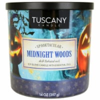 Tuscany Candle Soy Blend Candle - Midnight Woods