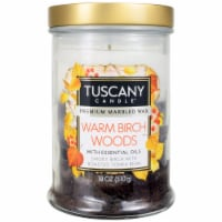 Tuscany Candle Scented Candle - Warm Birch Woods