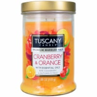 Tuscany Candle Scented Candle - Cranberry Orange
