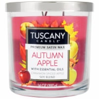 Tuscany Candle Autumn Apple Cinnamon Spiced Apple Scent Candle