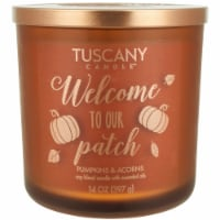 Tuscany Candle Scented Candle - Welcome Patch