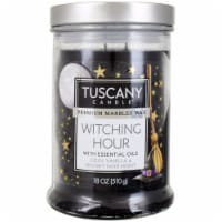 Tuscany Candle Premium Marbled Wax Candle - Witching Hour
