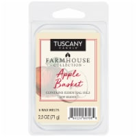 Tuscany Candle Farmhouse Collection Apple Basket Wax Melts - 6 pk