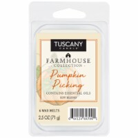 Tuscany Candle Farmhouse Collection Pumpkin Picking Wax Melts - 6 pk