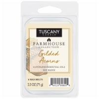 Tuscany Candle Farmhouse Collection Gilded Acorns Wax Melts - 6 pk