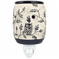 Tuscany Owl in Tree Outlet Warmer
