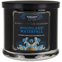 Tuscany Homme & Heritage Collection Woodland Waterfall Soy Blend Jar Candle