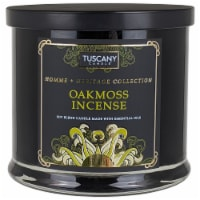 Tuscany Candle Homme & Heritage Collection Oakmoss Incense Scented Jar Candle - 15 oz