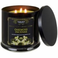 Tuscany Homme & Heritage Collection Oakmoss Incense Soy Blend Jar Candle