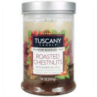 Tuscany Triple Pour Scented Candle - Roasted Chestnuts