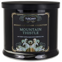 Tuscany Homme & Heritage Collection Mountain Thistle Soy Blend Jar Candle