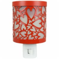 Tuscany Candle Metal Heart Outlet Warmer - Red