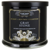 Tuscany Homme & Heritage Collection Gray Stone Soy Blend Jar Candle