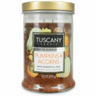 Tuscany Candle Limited Edition Pumpkin & Acorns Scented Jar Candle - 18 oz