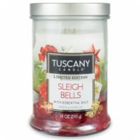 Tuscany Limited Edition Sleigh Bells Jar Candle - 18 oz