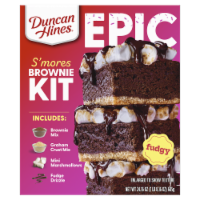 Duncan Hines Epic S'mores Brownie Mix Kit