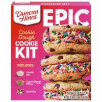 Duncan Hines Epic Cookie Dough Cookie Mix Kit - 22.18 oz