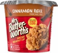 Mrs. Butterworth's Cinnamon Roll Pancake Breakfast Cup