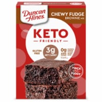 Duncan Hines Keto Friendly Chewy Fudge Brownie Mix
