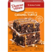 Duncan Hines Caramel Turtle Brownie Mix