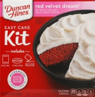 Duncan Hines Easy Cake Kit Red Velvet Dream Cake Mix
