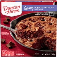 Duncan Hines Gooey Double Chocolate Brownie Frozen Dessert
