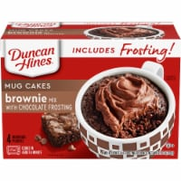 Duncan Hines Brownie with Chocolate Frosting Mug Mix
