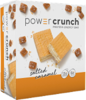 Power Crunch Salted Caramel Protein Energy Bars
