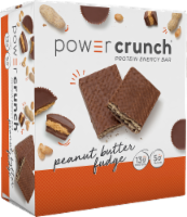 Power Crunch Peanut Butter Fudge Bars