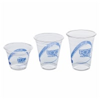 Eco EPCR9PK Recycled Content Clear Plastic Cold Drink Cups  9 oz.  Clear  50/Pack - 50