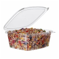 Eco-Products 32 oz. HINGED Rectangular Deli Containers / 200-ct. case - 200-ct. case