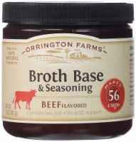 Orrington Farms Beef Flavored Soup Base 56 Servings ( 2 Pack ) - 2 Pack/12 Ounce