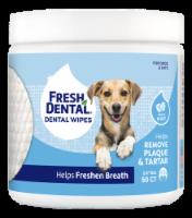 Naturel Promise Fresh Dental Fresh Mint Dog & Cat Dental Wipes