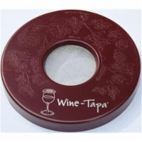 Wine-Tapa WTMERLOT Wine Glass Cover, Merlot