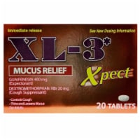 XL-3 Xpect Mucus Relief Immediate Release Tablets