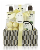 Deluxe Spa Gift Basket- Hydrating Avocado Oil Skin Therapy Kit. Luxury Gift-Wrapped - 1