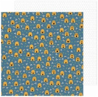 """Jen Hadfield The Avenue Double-Sided Cardstock 12""""X12""""-Honeycomb Ct. - 1"""