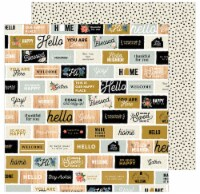 """Jen Hadfield The Avenue Double-Sided Cardstock 12""""X12""""-Welcome Home - 1"""