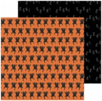 """Spoooky Double-Sided Cardstock 12""""X12""""-Monster Mash - 1"""